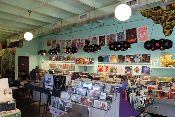 Sweat Records, a Miami record store that has been around for over a decade.