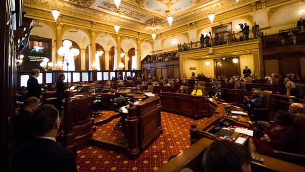 Chicago Mayor-elect Lori Lightfoot addressed the Illinois Senate on Thursday, April 11, 2019.