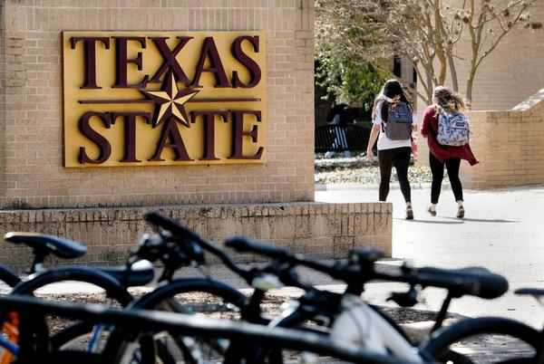 The Texas State student senate voted Wednesday to bar conservative group Turning Point USA from campus.