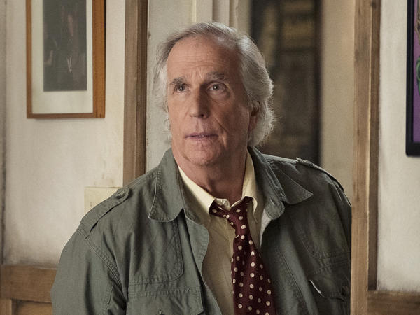 Henry Winkler won an Emmy Award for playing acting teacher Gene Cousineau on the HBO series <em>Barry</em>.