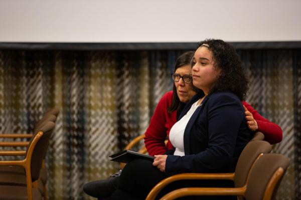 <p>Whitney Rogers, a foster youth, described the treatment she received in the Oregon foster care system.</p>