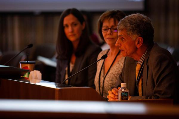 <p>Fariborz Pakseresht, head of the state Department of Human Services.</p>