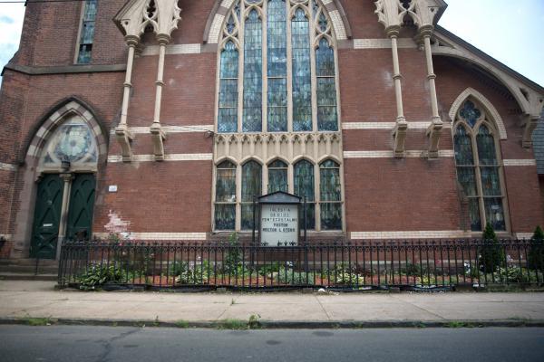 The Iglesia De Dios Pentecostal Church in New Haven, Connecticut was where Nury Chavarria sought sanctuary in 2017.