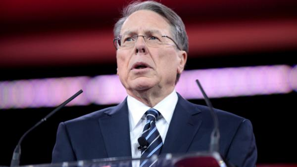 NRA CEO Wayne LaPierre speaks at the 2015 Conservative Political Action Conference in National Harbor, Maryland.