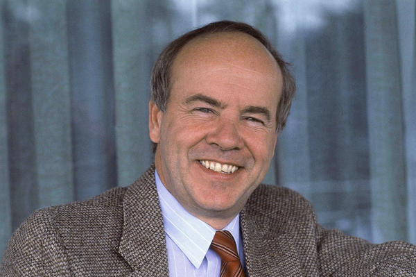 "Tim Conway <a href=""https://www.npr.org/templates/transcript/transcript.php?storyId=127780579"">told NPR</a> in 2010 that he was destined to do comedy. When people inquired about what he might have done other than showbiz, he'd say, ""Nothing, because I'm not capable of doing anything else."" Conway is pictured here in February 1983."