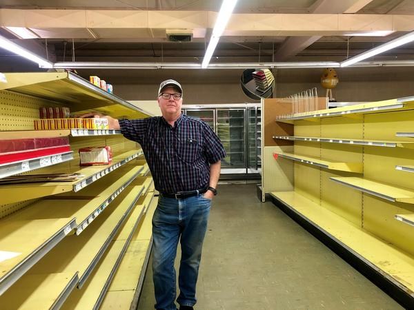 For years, Doug Nech ran a grocery store in Kansas. But then a dollar store decided to set up shop just around the corner.