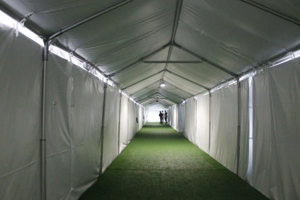 The facility is divided into 'pods.'