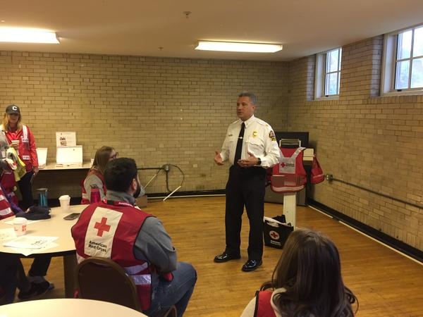Cleveland Fire Chief Angelo Calvillo joined the department in 1989. In 1992, the city began the 'Sound the Alarm' program to install free smoke detectors. The American Red Cross took the program national in 2014.