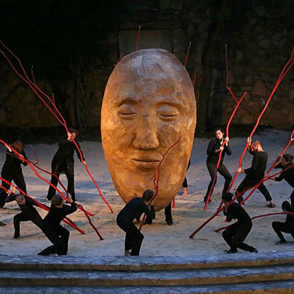 A Paperhand Puppet Intervention production photo