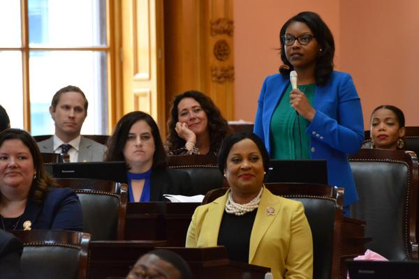Rep. Emilia Sykes (D-Akron), House minority leader, wants the General Assembly to start the process of redrawing the Congressional map.