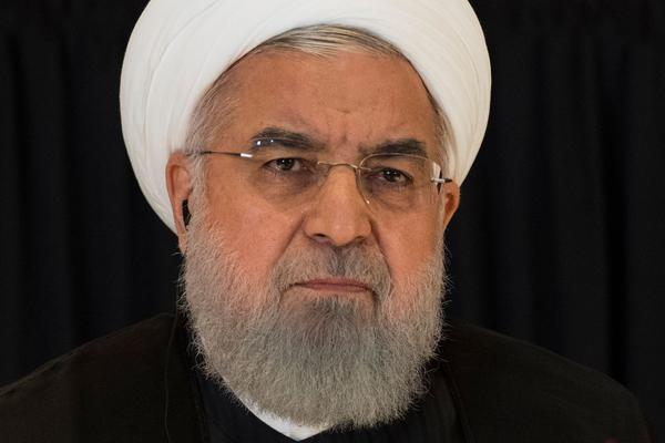 Iranian President Hassan Rouhani speaks during a press conference in New York on September 26, 2018. This week he announced that Iran would no longer comply with parts of the Joint Comprehensive Plan of Action, more commonly referred to as the Iran Nuclear Deal.