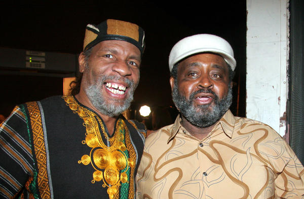 Abiodun Oyewole and Umar Bin Hassan of The Last Poets.