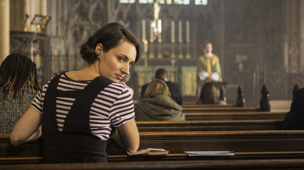 "In the second season of <em>Fleabag</em>, the title character tries to give up sex — and then meets a priest she desires. ""She had to change in some way, between the two seasons,"" Phoebe Waller-Bridge says."