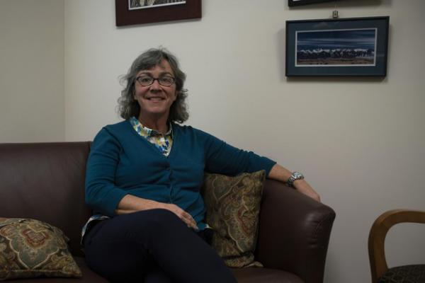 <p>Oregon State Rep. Barbara Smith Warner, D-Portland, sits for a portrait in her office on Dec. 18, 2018 in Salem, Oregon. Smith Warner is sponsoring legislation to require all gun owners to lock their guns when not in use.</p>