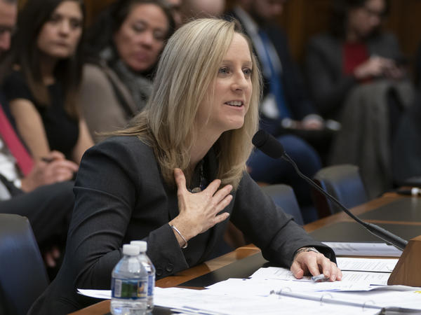 Kathy Kraninger, director of the Consumer Financial Protection Bureau, says in a letter that the Department of Education is getting in the way of efforts to police the student loan industry.