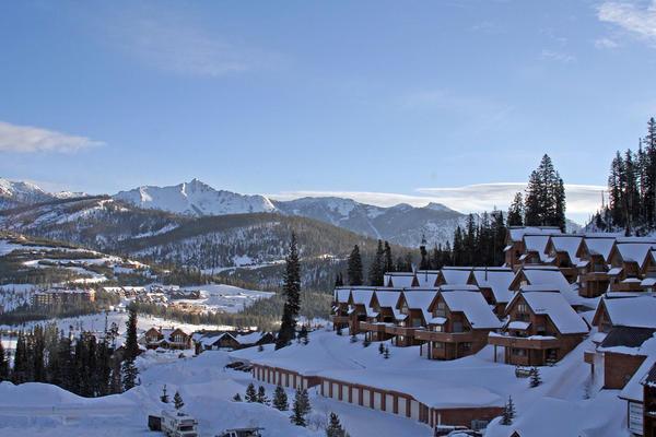 Resort residencies in Big Sky, Montana, 2006.