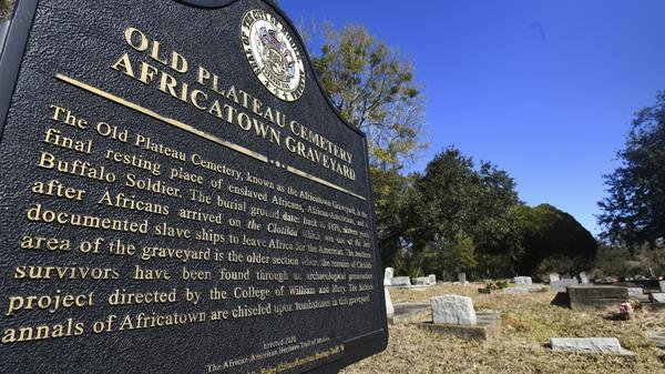 Many of the survivors of the Clotilda voyage are buried in Old Plateau Cemetery near Mobile, Ala. The Alabama Historical Commission announced Wednesday that researchers have identified the vessel after months of work.