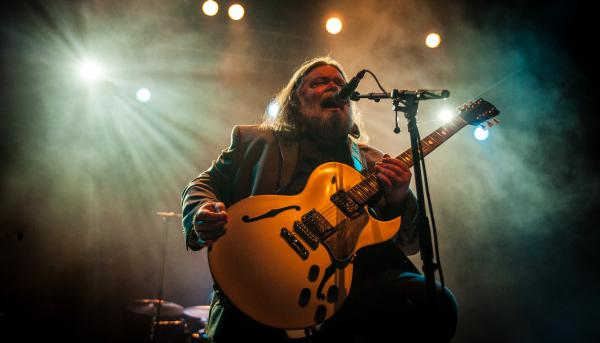 Roky Erickson, seen here performing in London in 2012, died Friday at the age of 71.