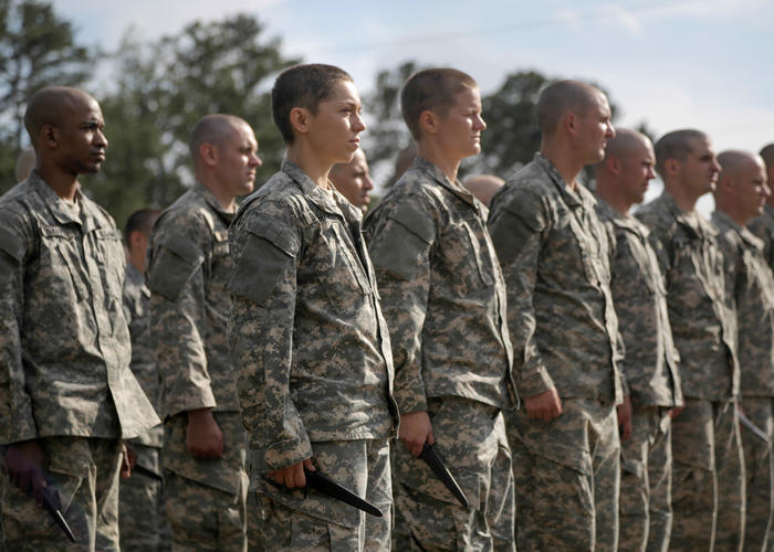 the fight of women for equality to participate in ground combat in the army and marines Women in combat arms (2) add to my  2/3 male marines and 1/3 women marines do not trust  dod has ever proved how incorporating women into our ground combat.