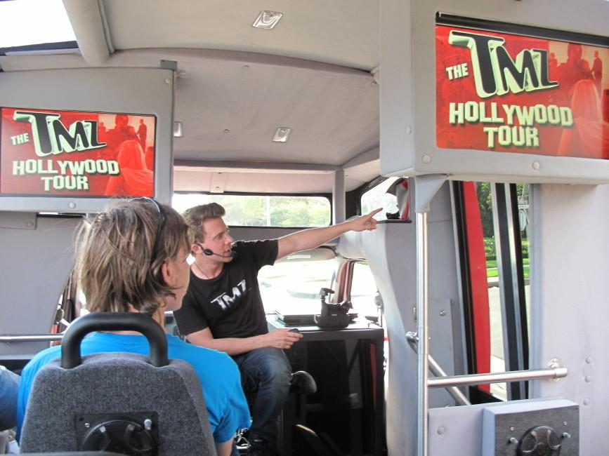 Hollywood seen through paparazzi colored glasses for Tmz tours in los angeles