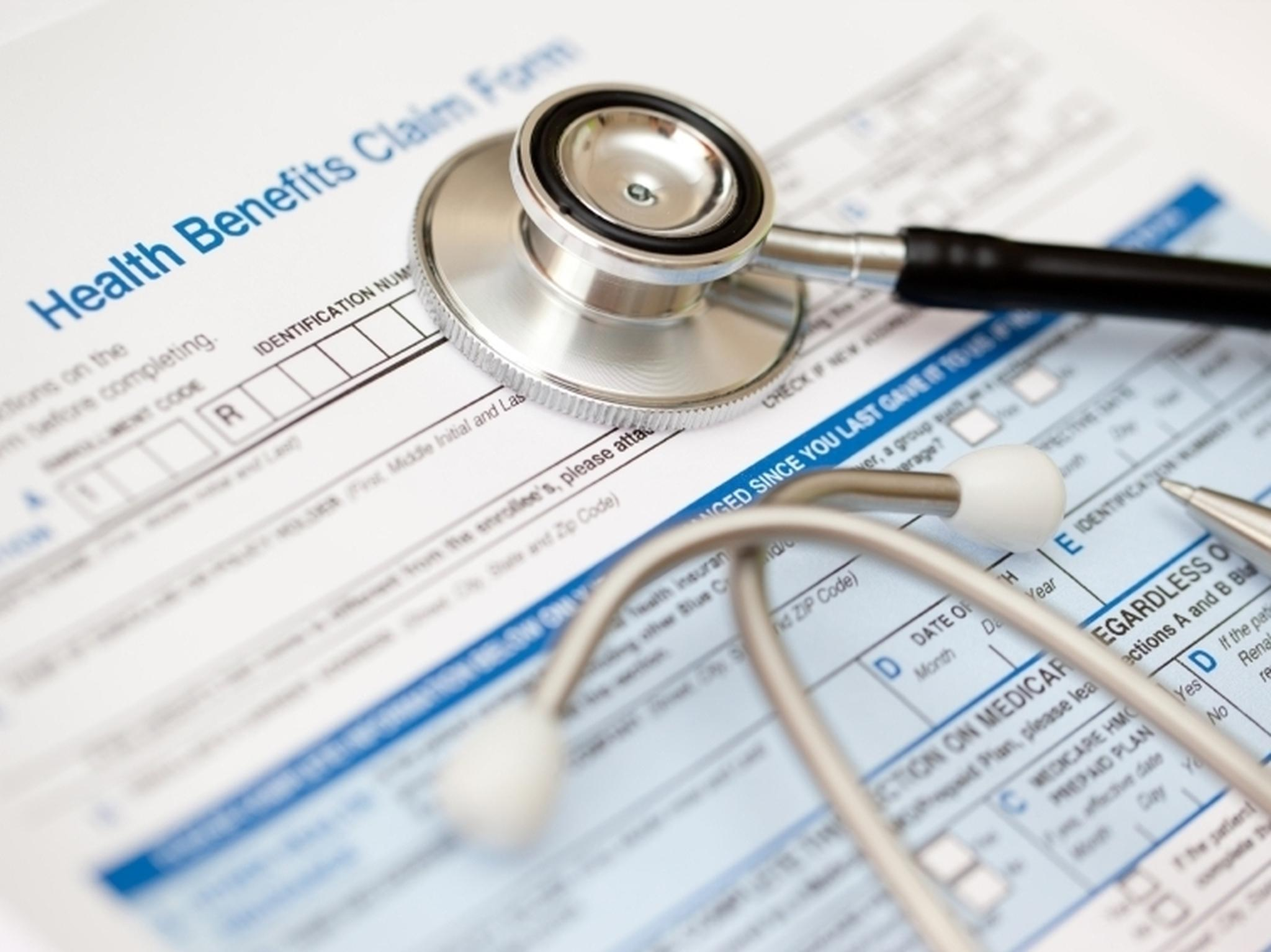 medical insurance claims resume