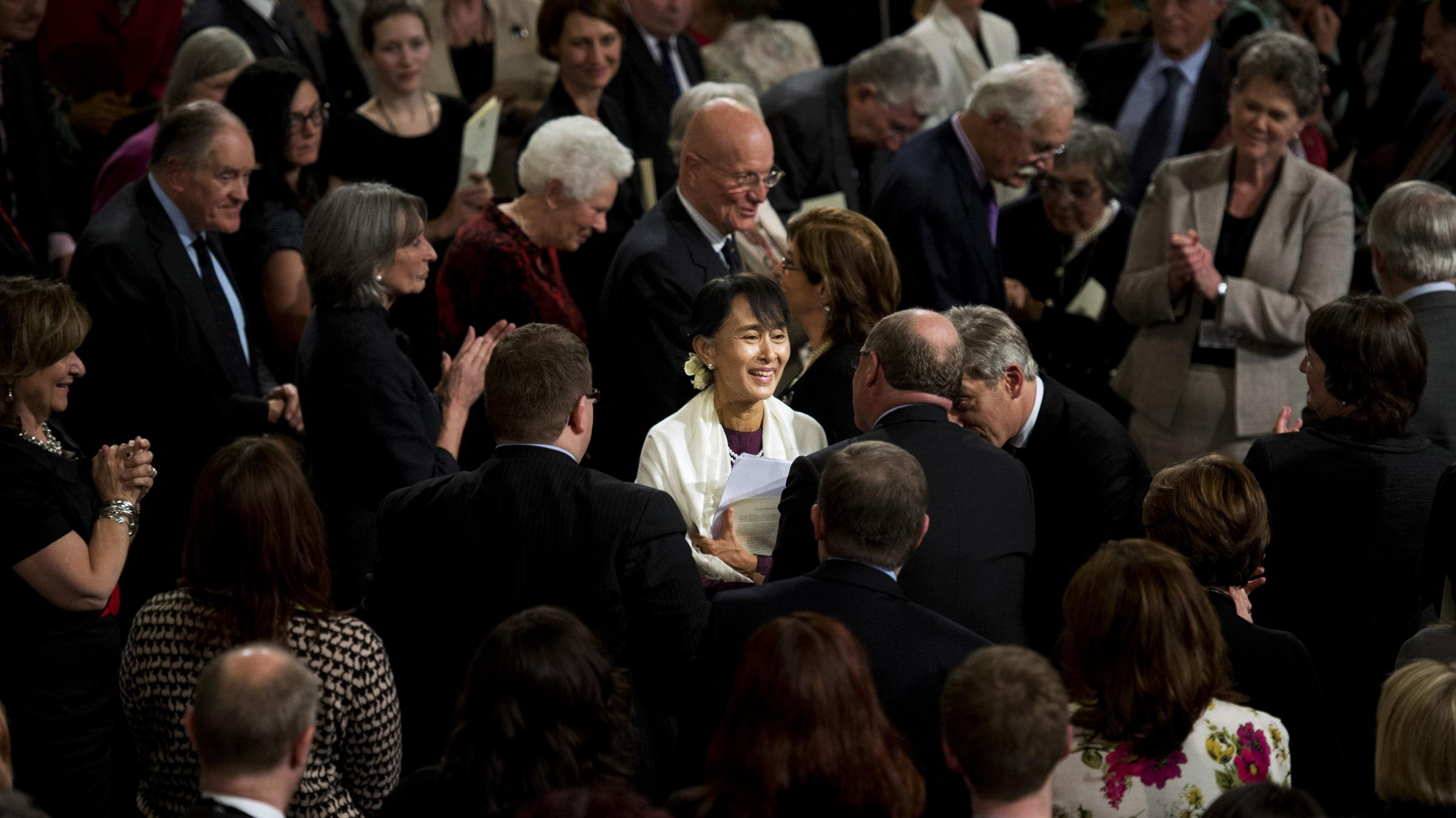 Nobel Winner Suu Kyi to Be Stripped of Freedom of Edinburgh Award