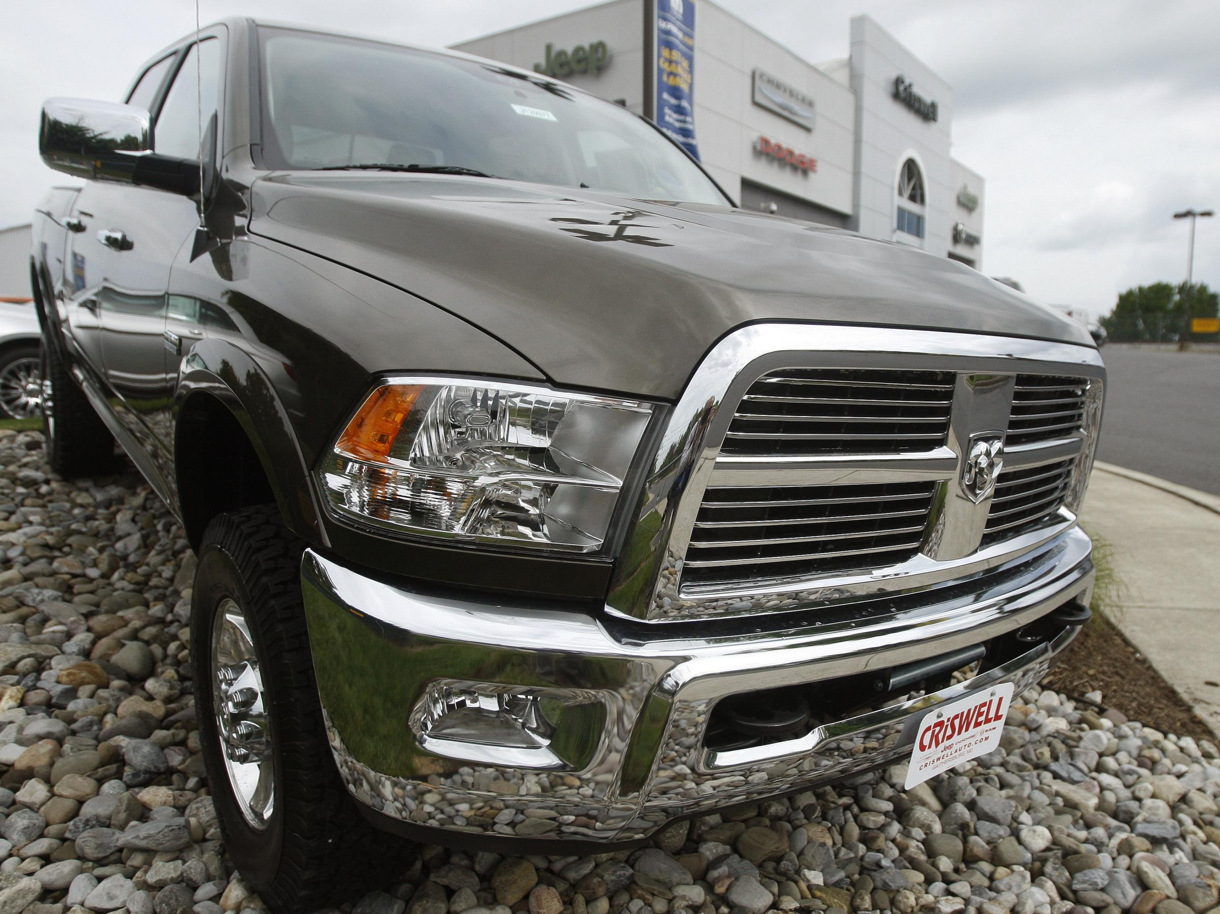 Big Three All Posted Double Digit Gains In Auto Sales Last Month