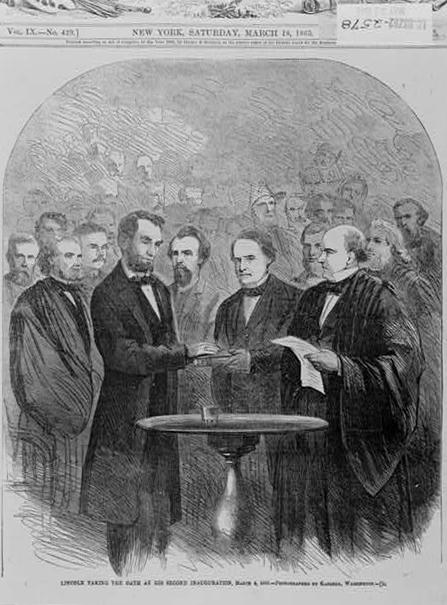 from lincoln s first inaugural address It is seventy-two years since the first inauguration of a president under our national constitution citation: abraham lincoln: inaugural address, march 4, 1861.