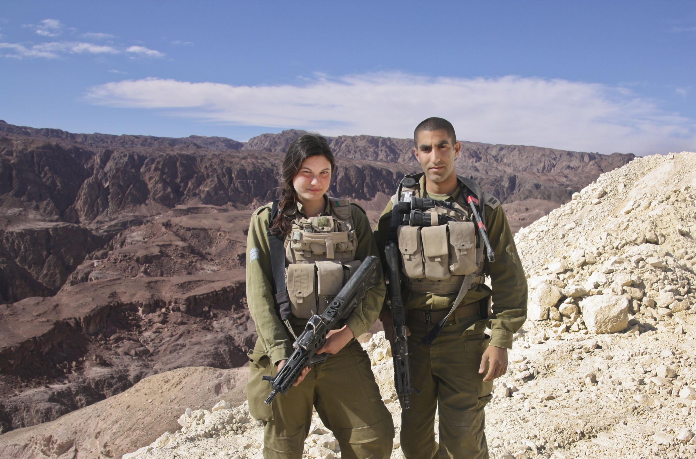 كتيبه كراكال الاسرائيليه .....Caracal Battalion  184487596