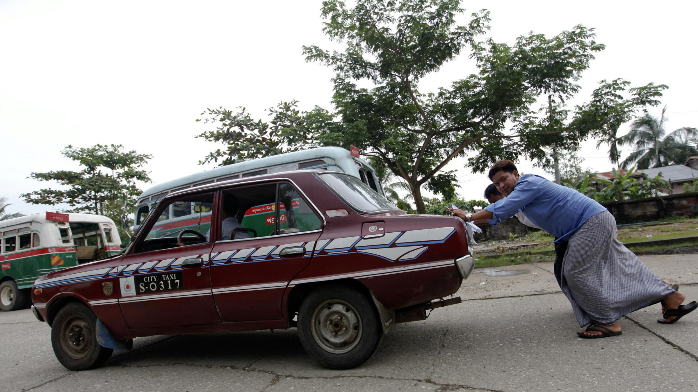Cars For Clunkers: Myanmar Swaps Old Rides For New | WVXU