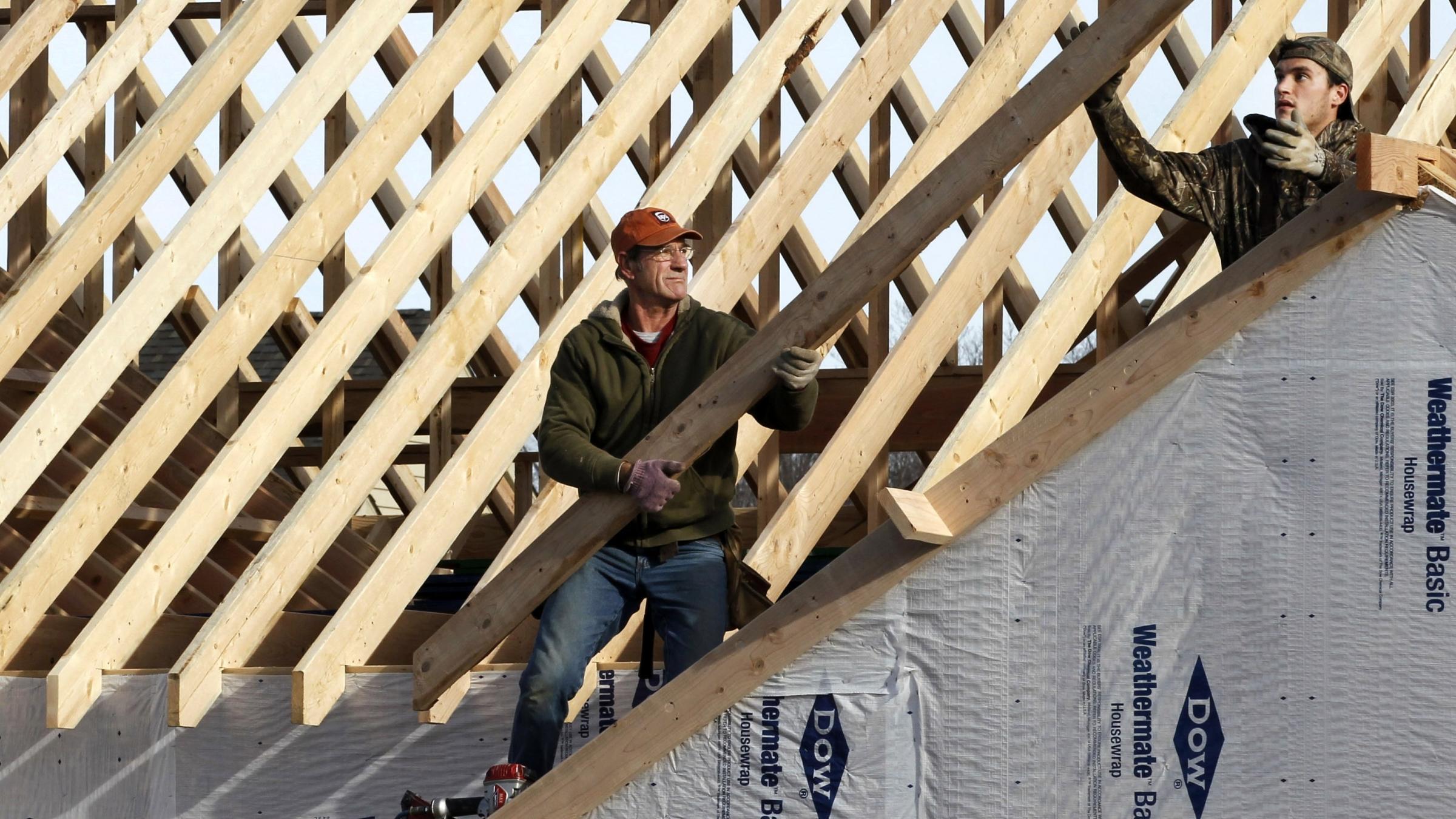 Jobs still lag but homebuilding may soon help kera news for Homebuilding com