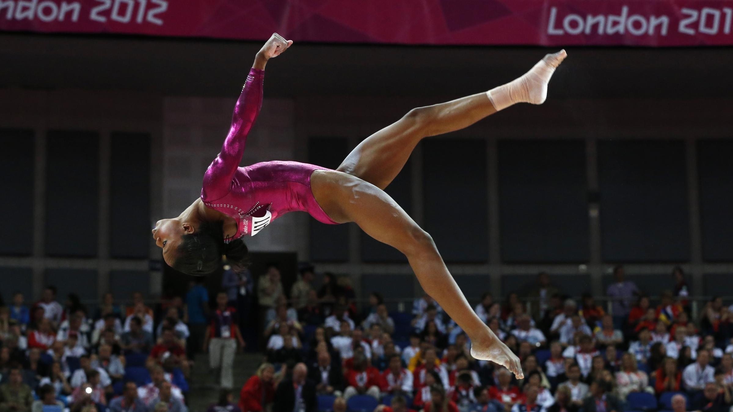 gabby douglas floor routine - photo #19