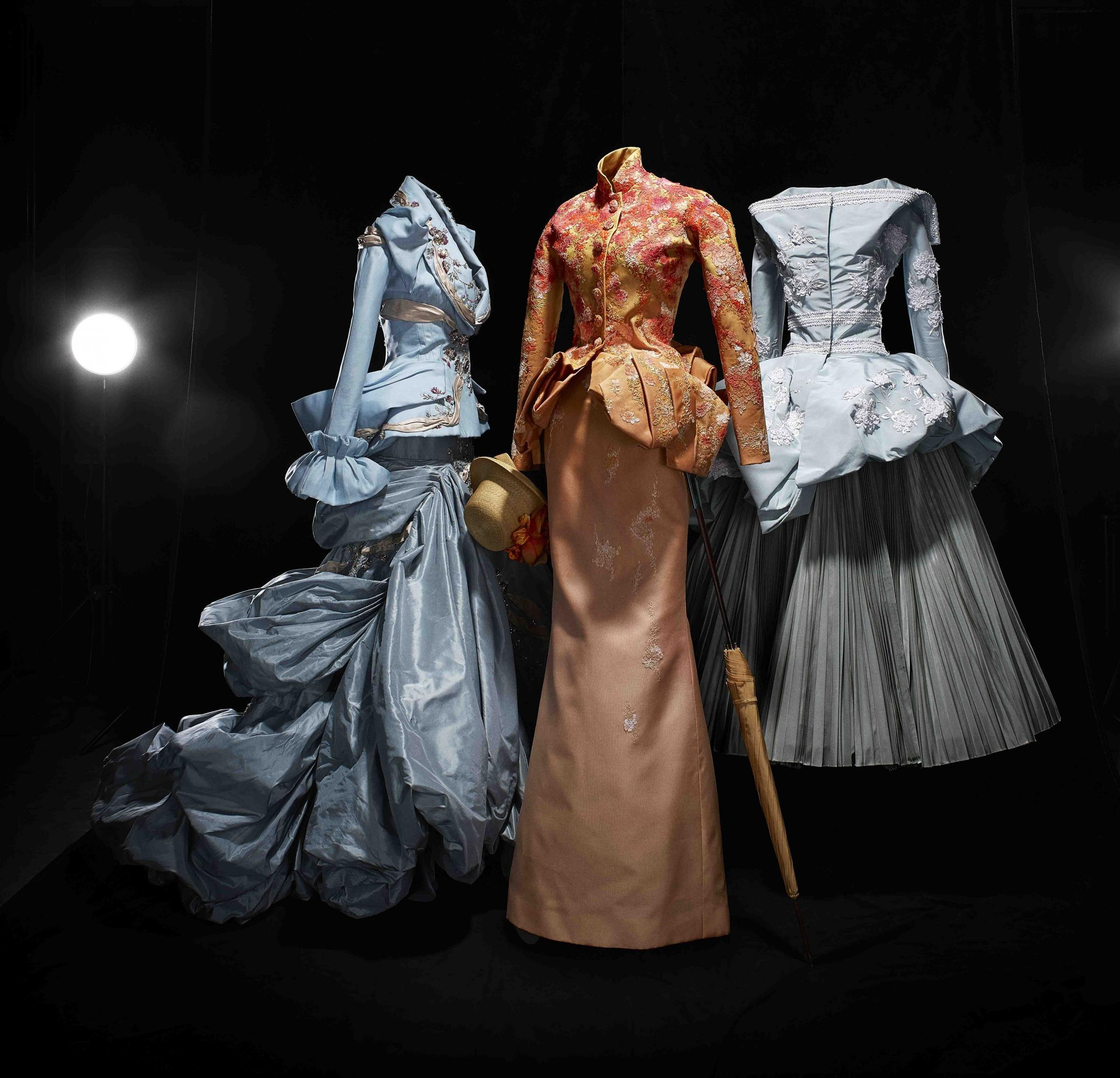 Exhibit explores how dior 39 s designs echo impressionist for Haute design