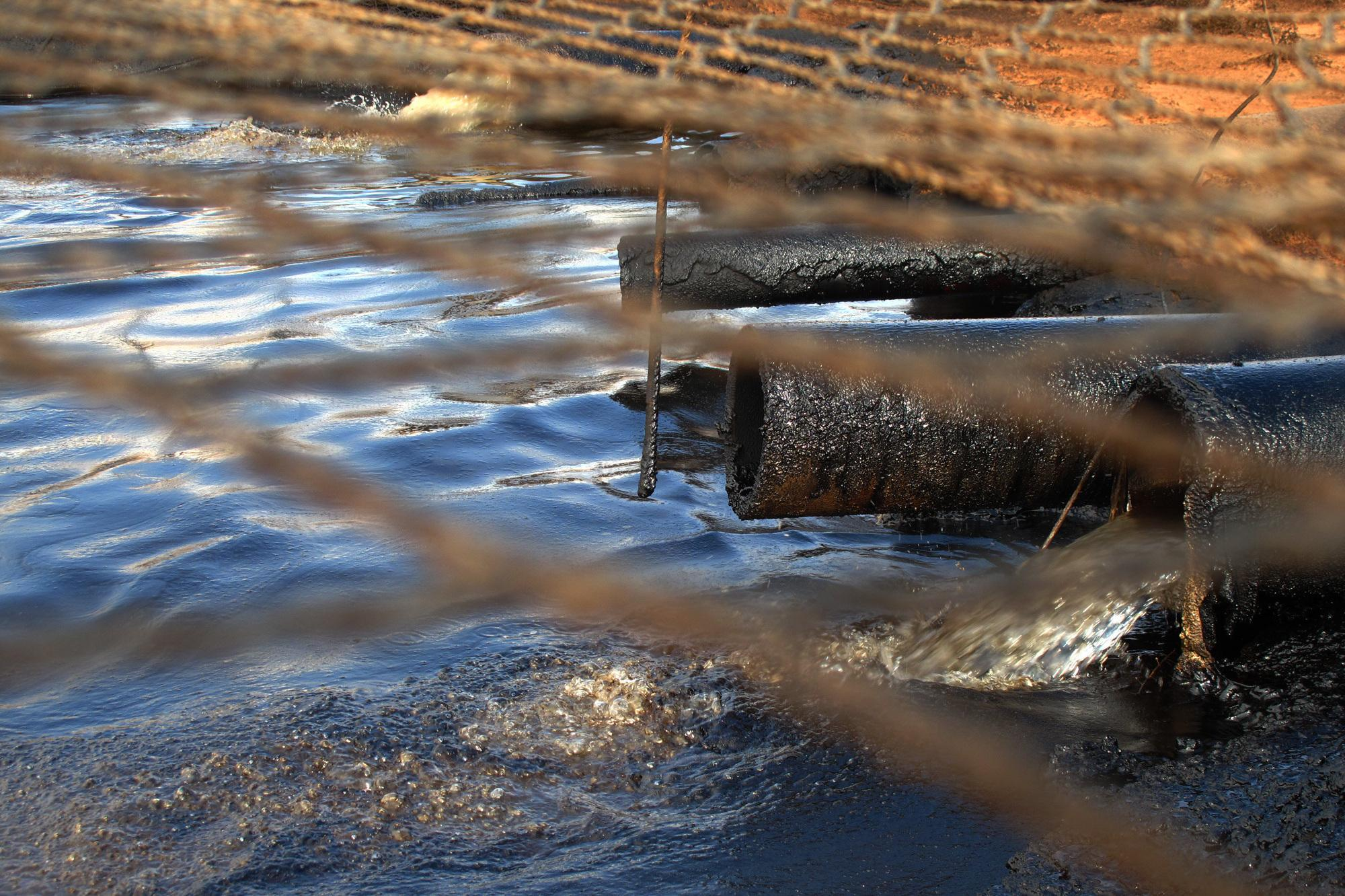 Loophole Lets Toxic Oil Water Flow Over Indian Land | KERA ...