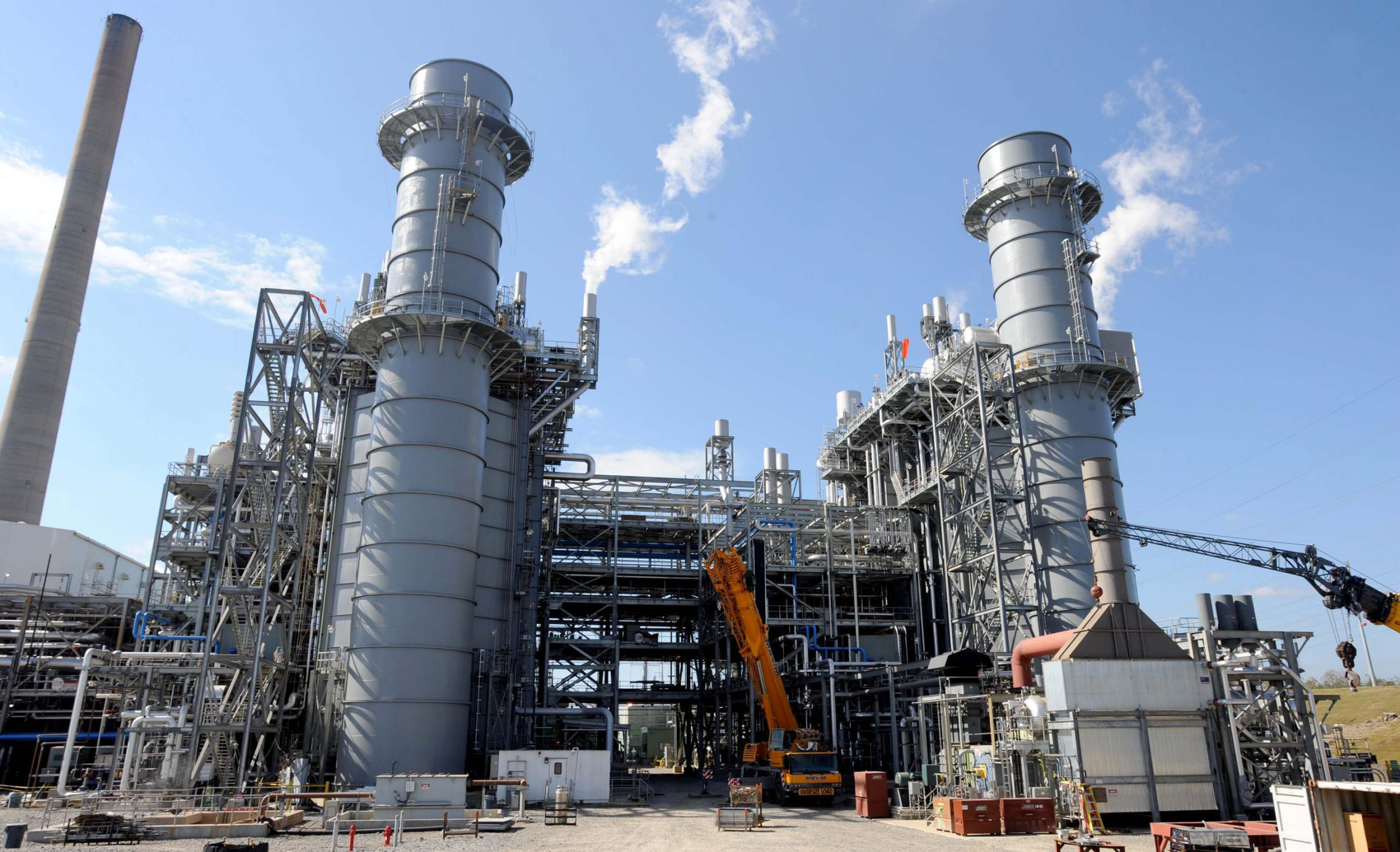Natural Gas Fired Power Plant Construction