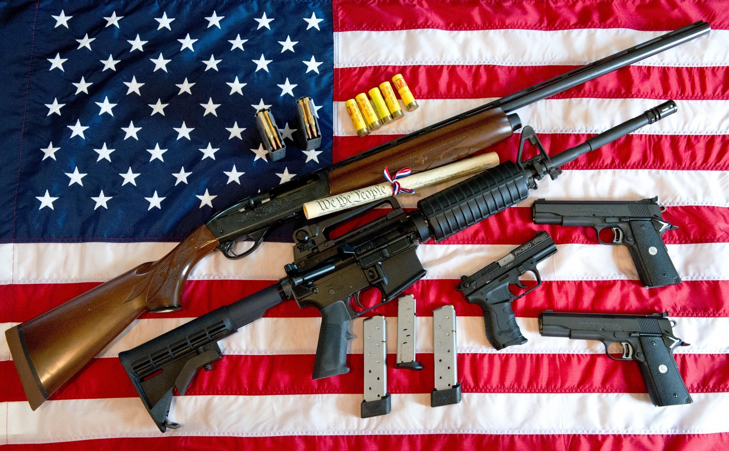 guns firearm and gun