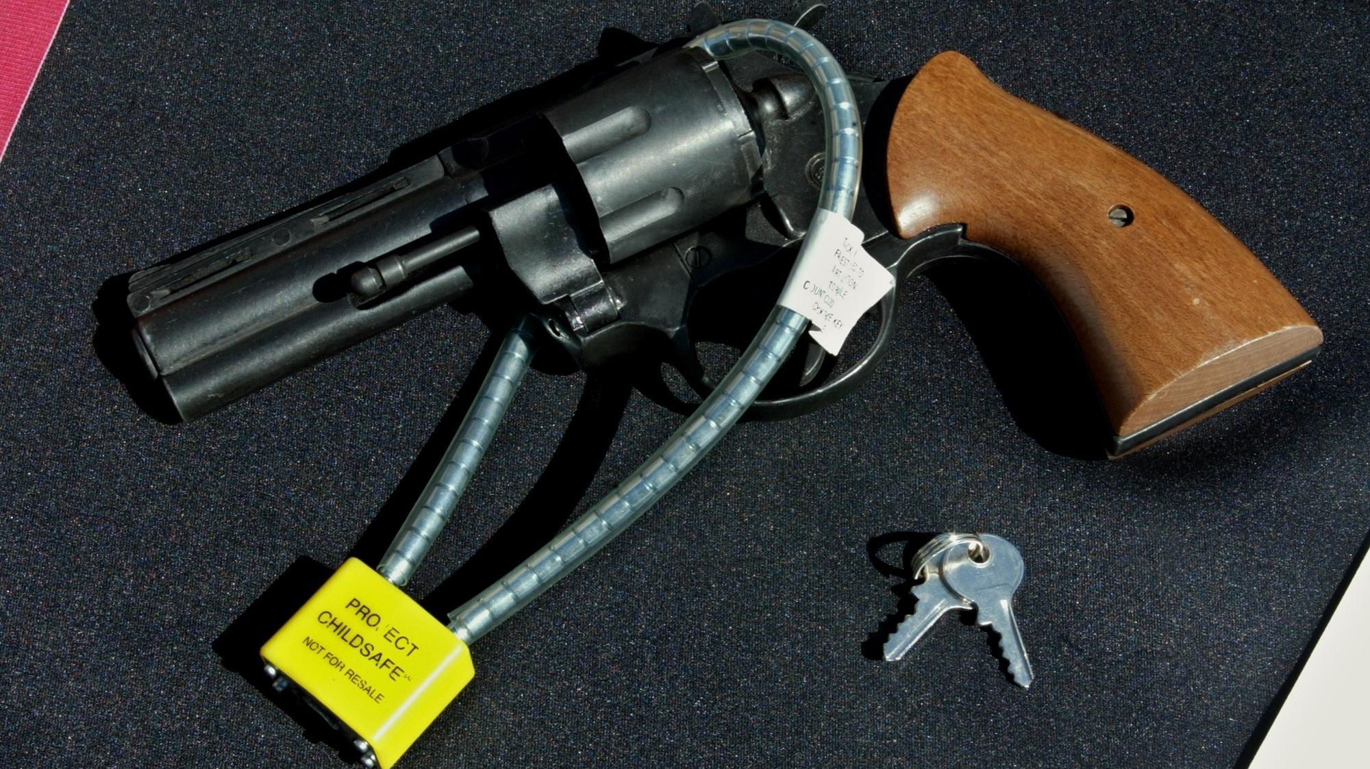 Gun Safety Locks : Va offers free gun locks to help prevent vet suicides