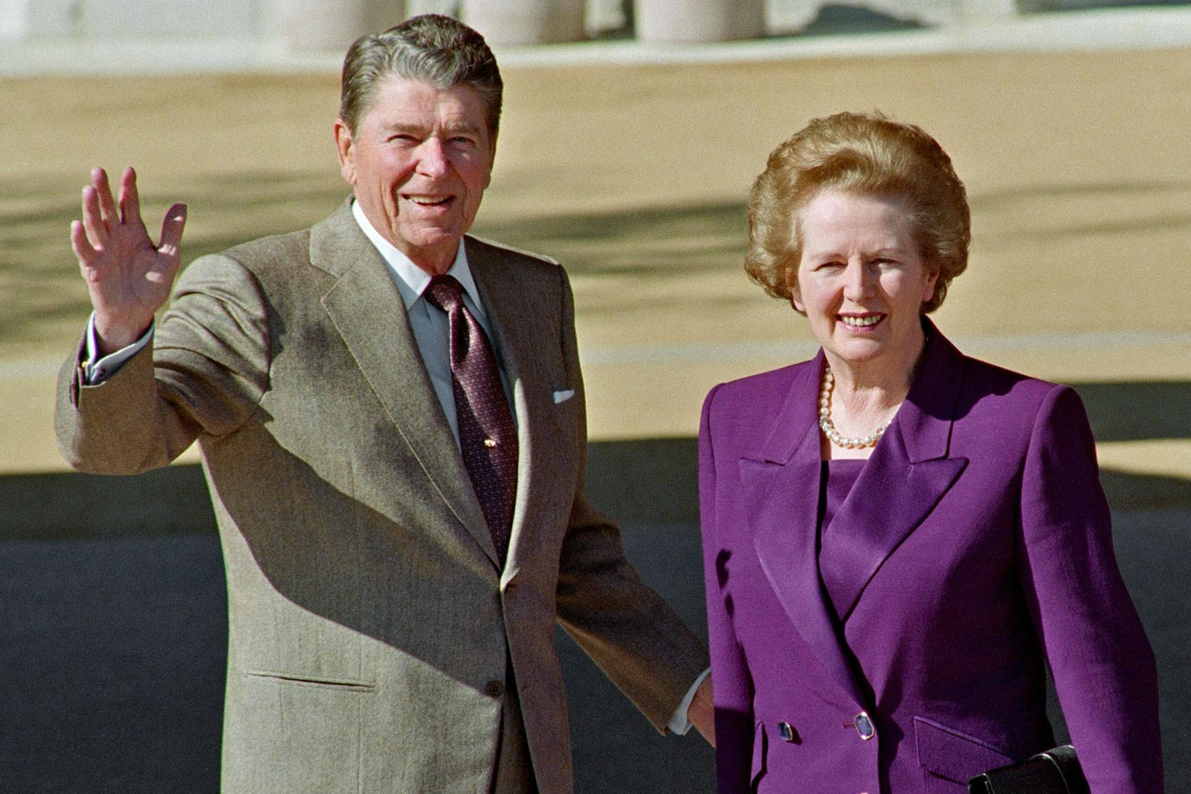 british politics thatcherism and reaganomics essay