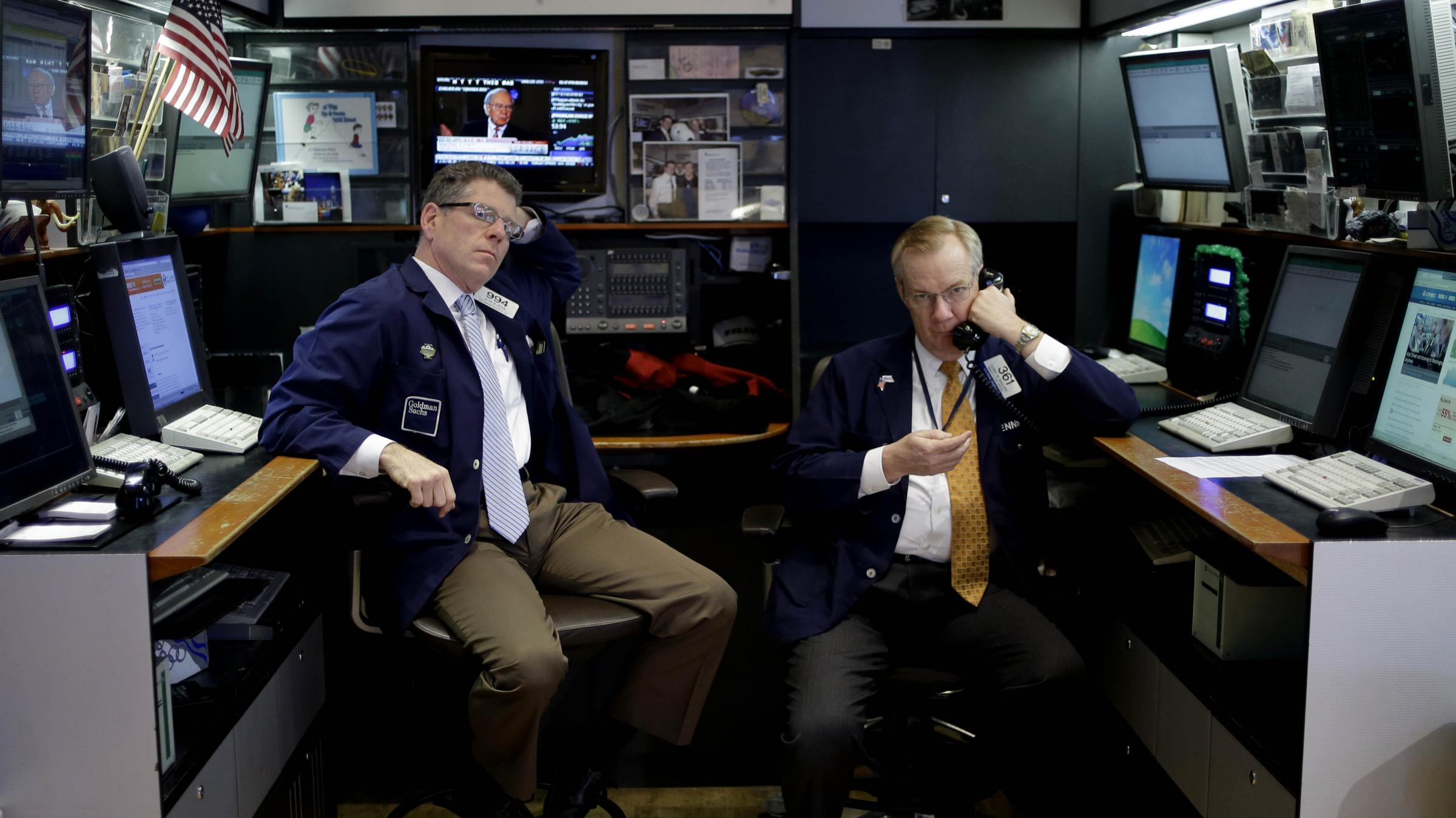 christmas present wall street could shut down government