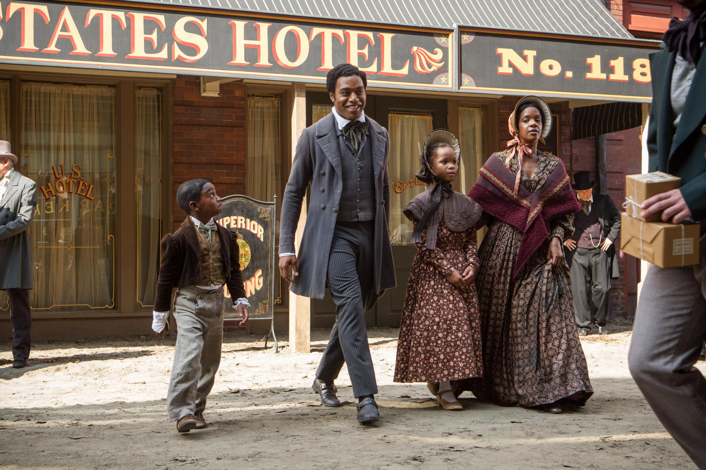 12 Years a Slave, starring Chiwetel Ejiofor, is based on an 1853 memoir by Solomon  Northup, a free black man in upstate New York who was kidnapped into ...