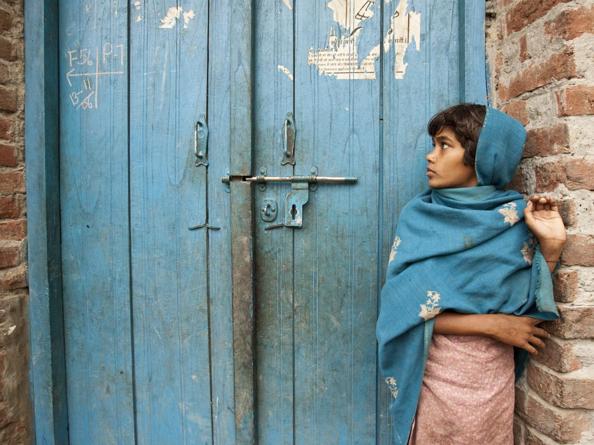 how the world backed polio into a corner knkx the markings on the door show that a polio immunization team vaccinated children in the home