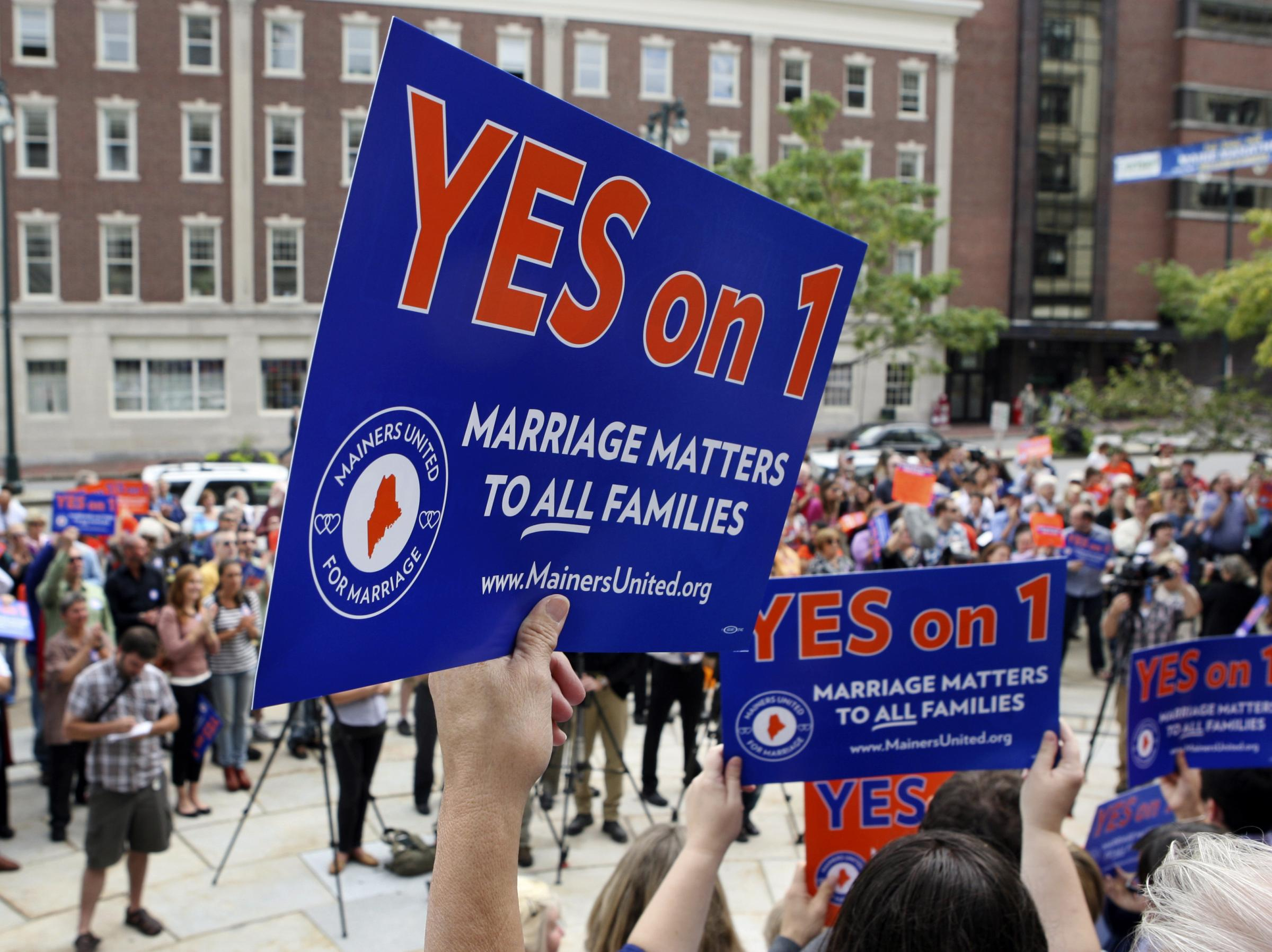 same sex marriage referendum in maine