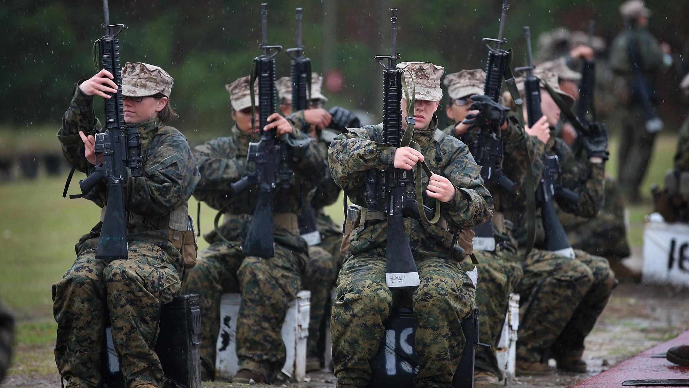 Marines: Most Female R...