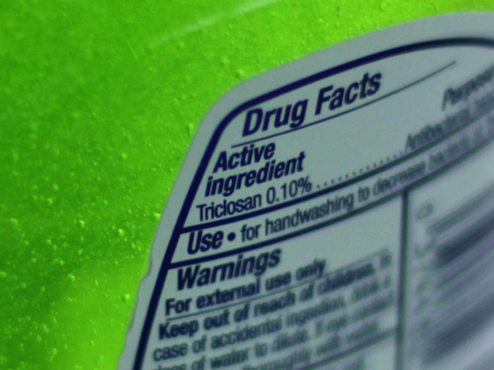 fda disproves the antibacterial properties of triclosan The fda issued a ruling that bans the use of 19 chemicals in antibacterial soaps, including the popular chemicals: triclosan and triclocarban.