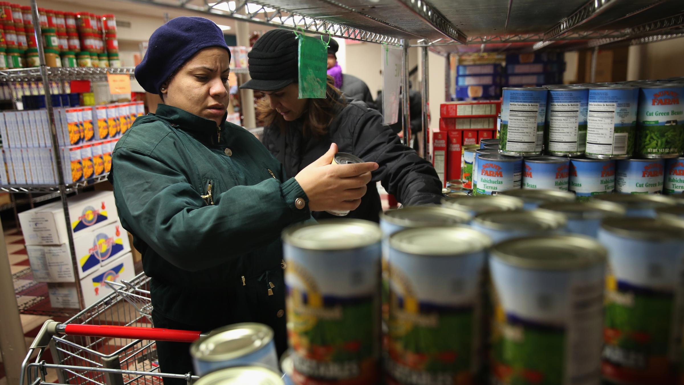 food stamp cuts cold weather put extra strain on food