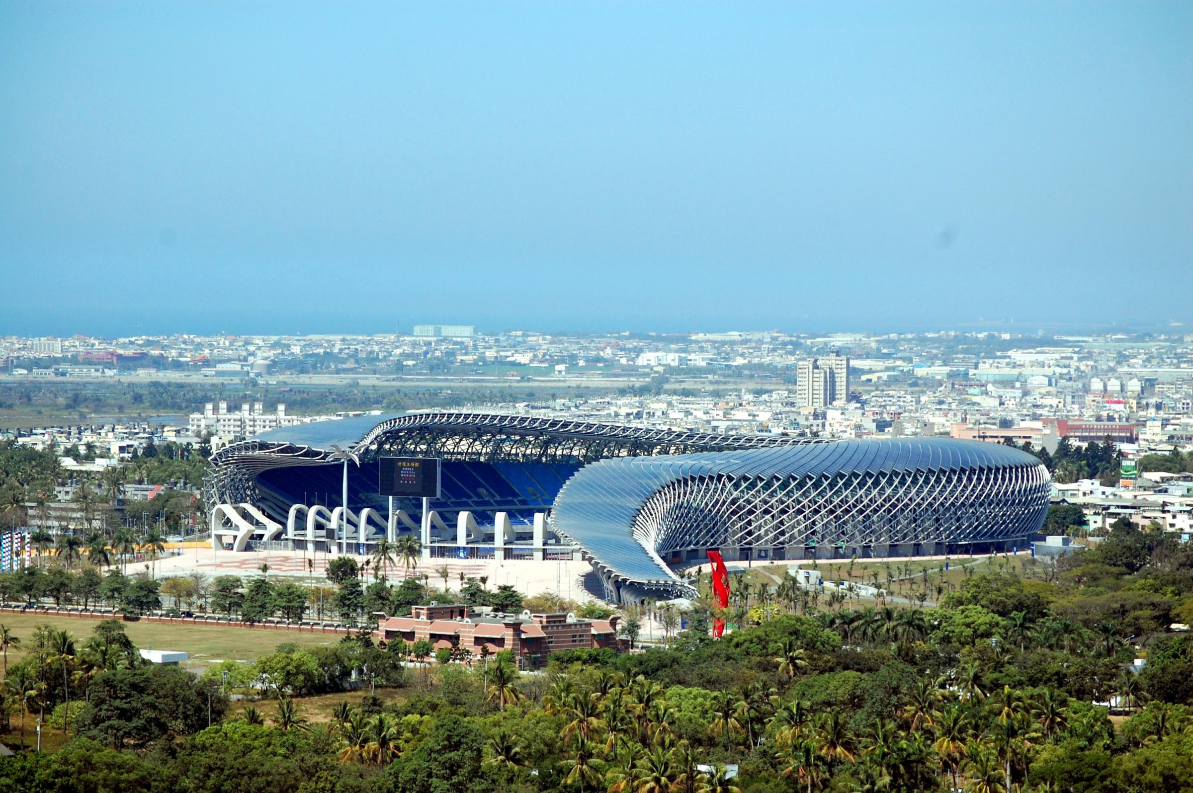 main stadium for the world games 2009, 2006-2009 kaohsiung