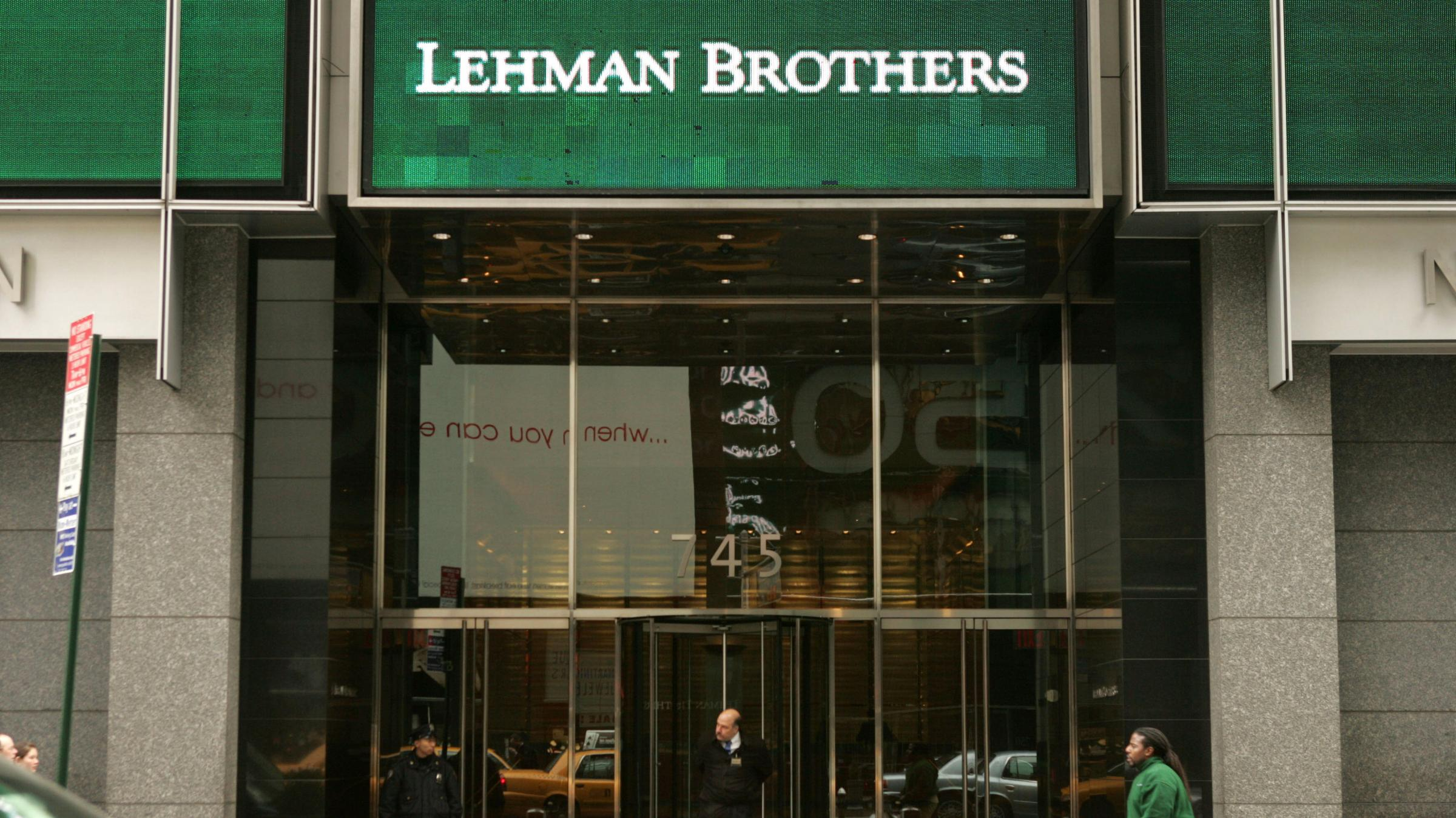the bankruptcy of lehman brothers Derivatives holders are treated differently in bankruptcy from other creditors, to  reduce systemic risk one negative effect of the derivatives.
