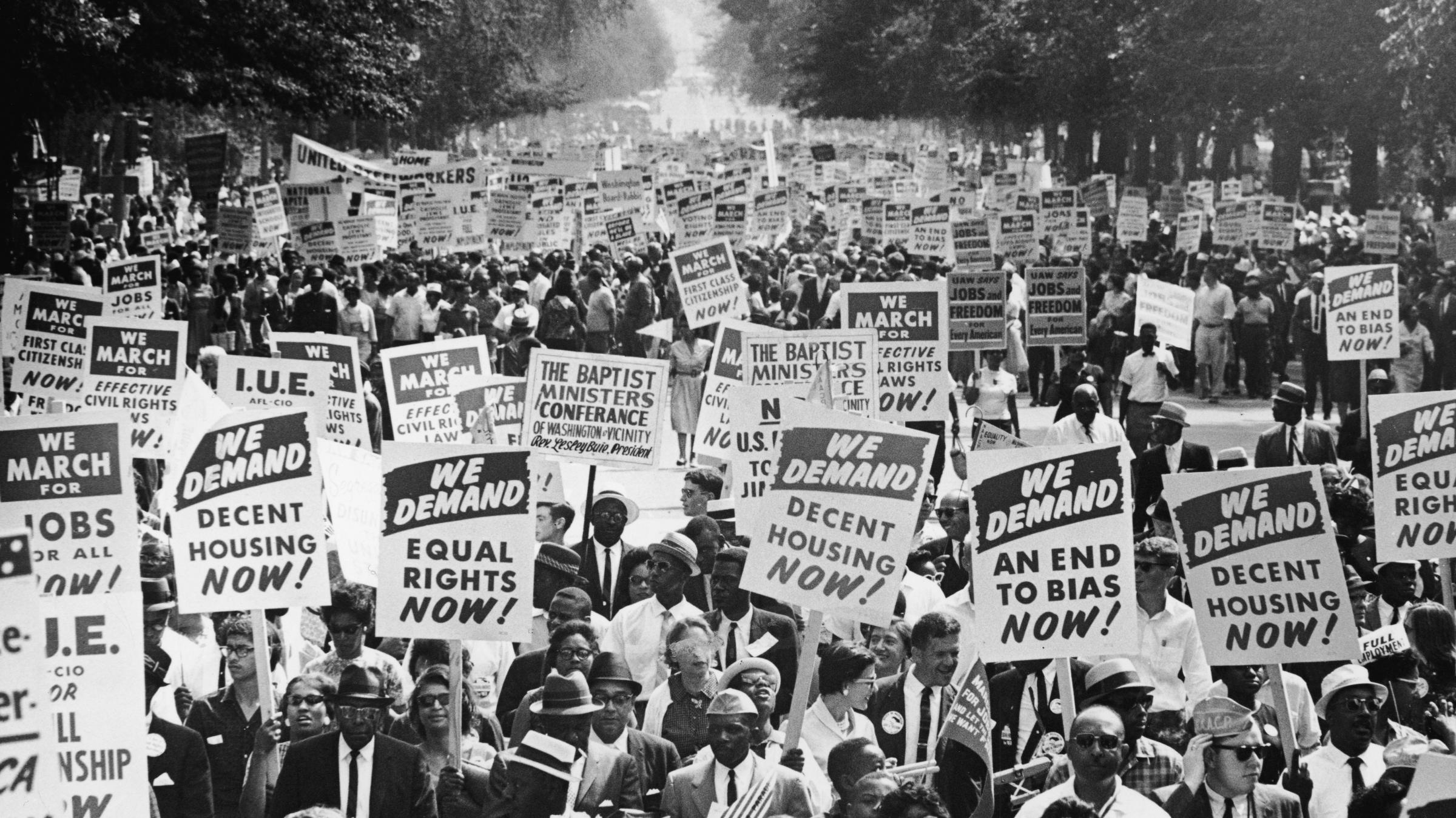 a history of the united states during the civil rights movement and the world war two