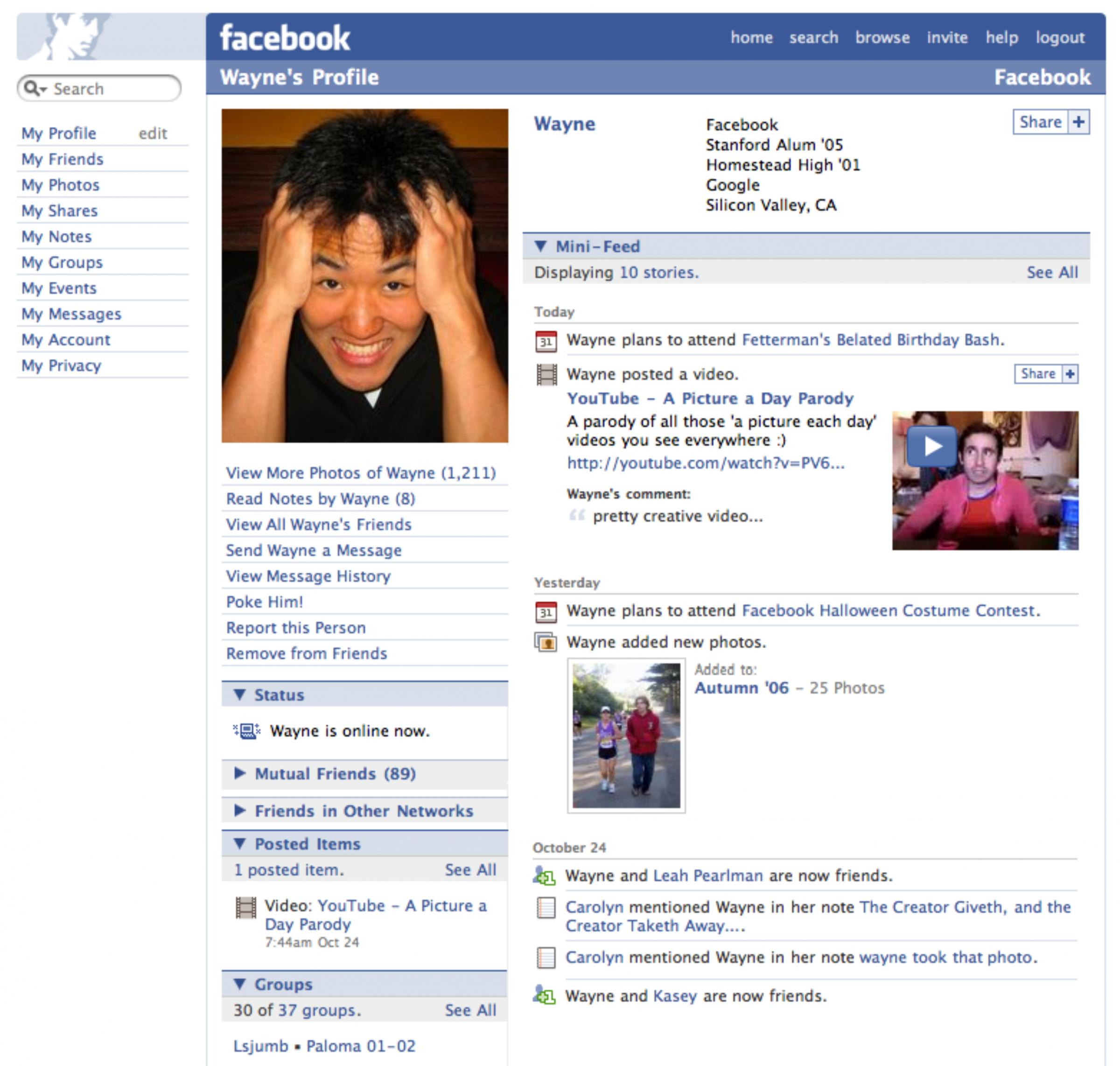 Facebook company profile - In 2006 Facebook Expanded Its Network So That Everyone Could Join