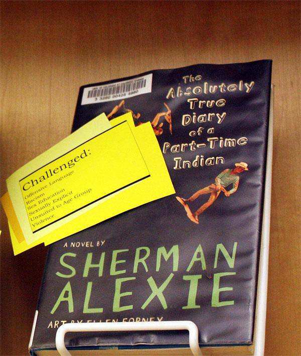 The Absolutely True Diary Of A Part Time Indian Quotes: Oregon School District Considers Ban On Sherman Alexie